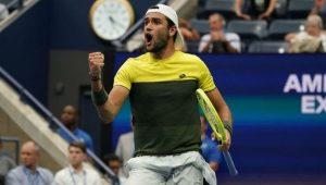 Berrettini surpreende no US Open