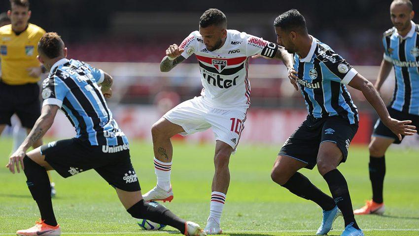 Cuca e Daniel, que tal o São Paulo no 3-5-2?