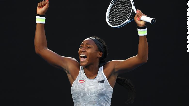 Serena e Naomi eliminadas em revanches