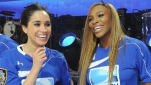 Serena evita polêmica sobre Megham Markle