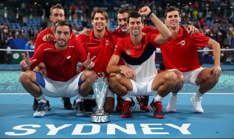 Sérvia vence ATP Cup