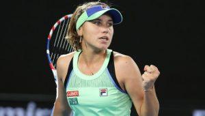 Kenin conquista o Australian Open