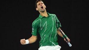 Djoko conquista 17º Grand Slam
