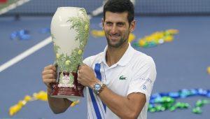 Djokovic, campeão, invicto e número 1