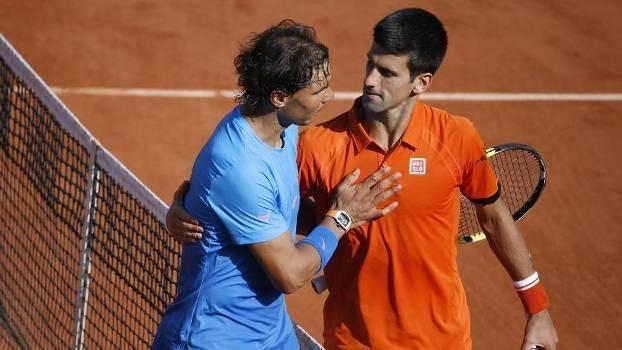 A chave masculina em Roland Garros