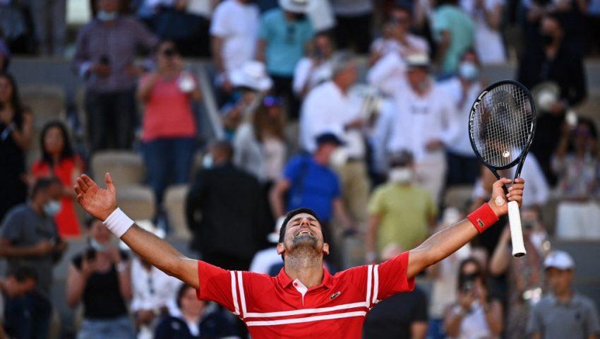Djokovic, leão em Roland Garros