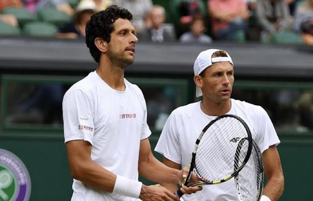 Melo nas quartas em Wimbledon