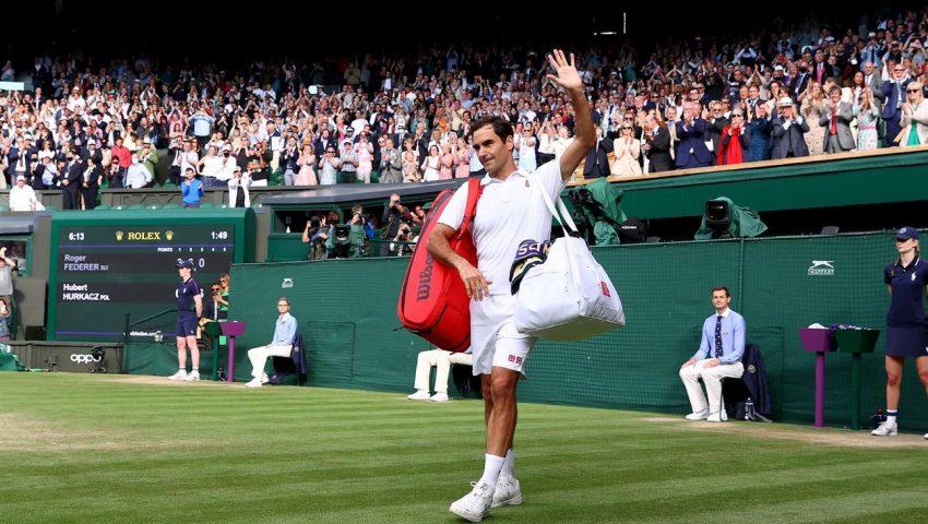 Federer fora, para minha tristeza