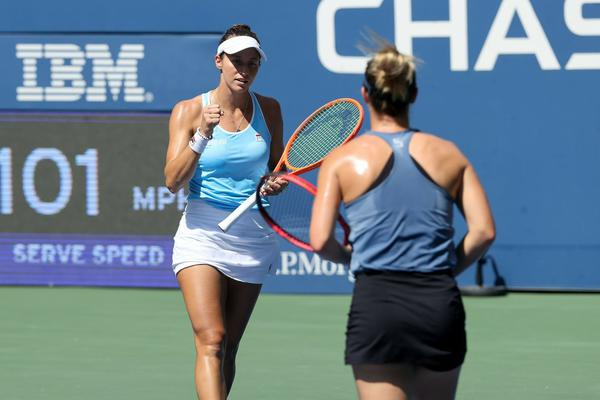 Stefani vai à semi do US Open