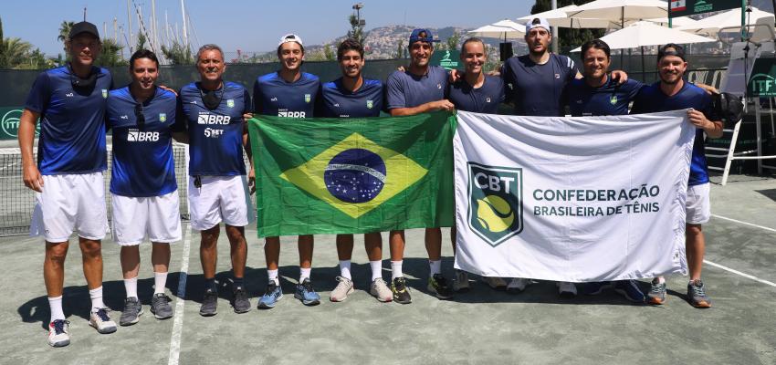 Brasil vence o Líbano na Davis