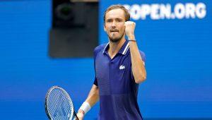 Medvedev frustra Djokovic no US Open