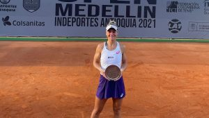Laura conquista duplas na Colômbia