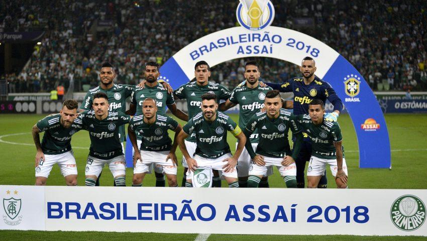 América é valente, mas Palmeiras é máquina