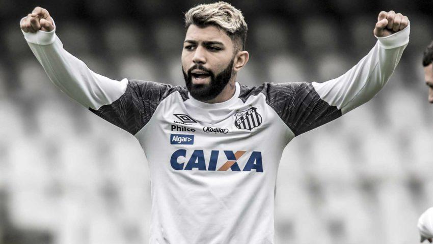 Gabigol com um pé no Flamengo
