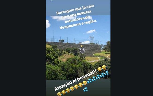 Thiago Neves e sua falta de noção