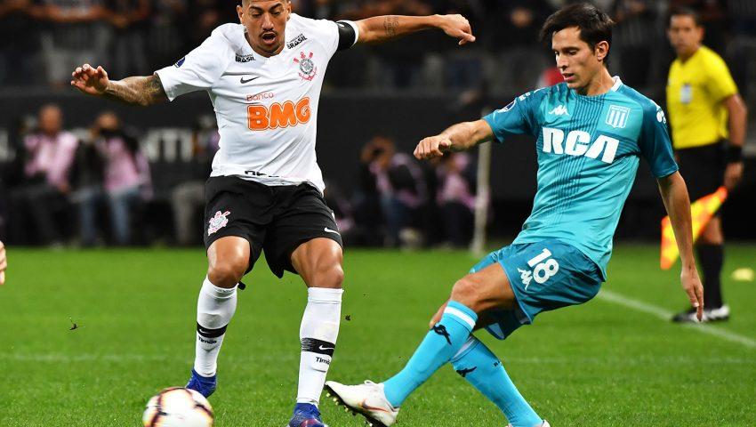 É GOL QUE FELICIDADE: Racing (4) 1 x 1 (5) Corinthians