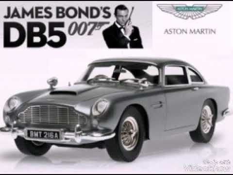 Os carros de Bond, James Bond
