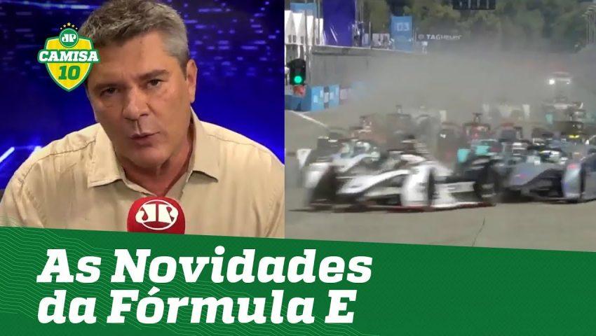 A Fórmula E eletriza as ruas de Santiago, no Chile