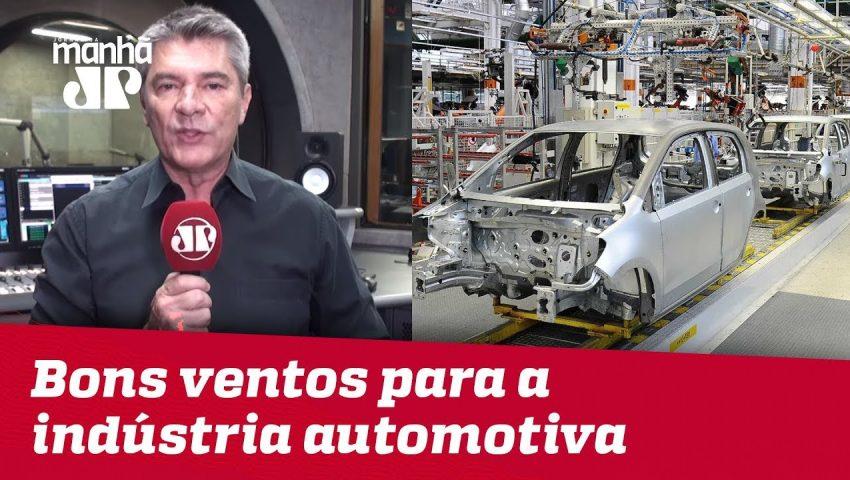 Indústria automotiva vê onda de otimismo em 2019   Máquinas da Pan
