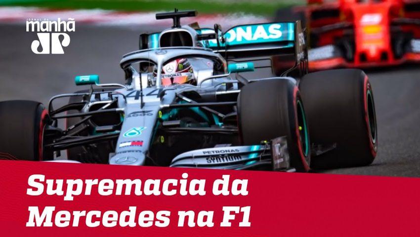 Supremacia da Mercedes na Fórmula 1 | Máquinas na Pan