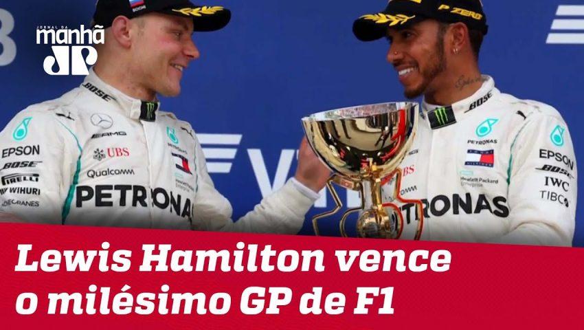 Lewis Hamilton vence o milésimo GP de F1 | Máquinas na Pan