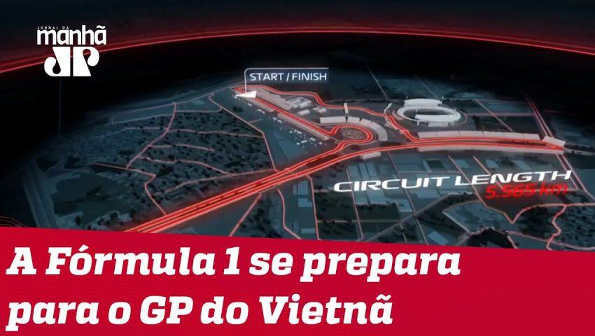 A Fórmula 1 se prepara para o GP do Vietnã | Máquinas na Pan