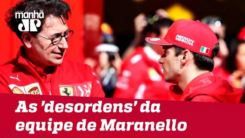 As 'desordens' da equipe de Maranello | Máquinas na Pan