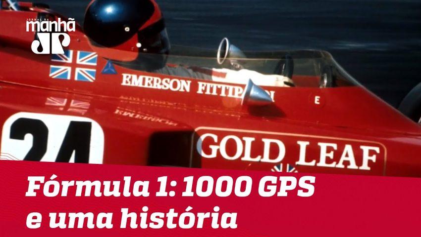 Fórmula 1: 1000 GPS e uma história   Máquinas na Pan
