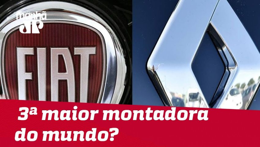 Fiat e Renault podem formar 3ª maior montadora do mundo