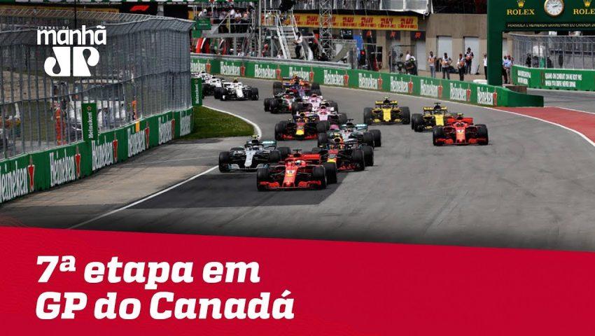Máquinas da Pan: Fórmula 1 chega a 7ª etapa em GP do Canadá
