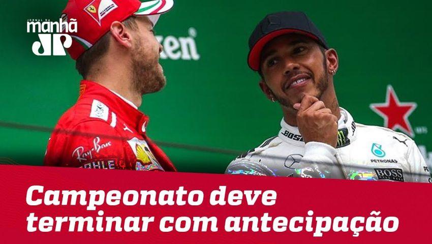 As 6 vitórias de Hamilton já sinalizam que o campeonato deve terminar com provas de antecipação