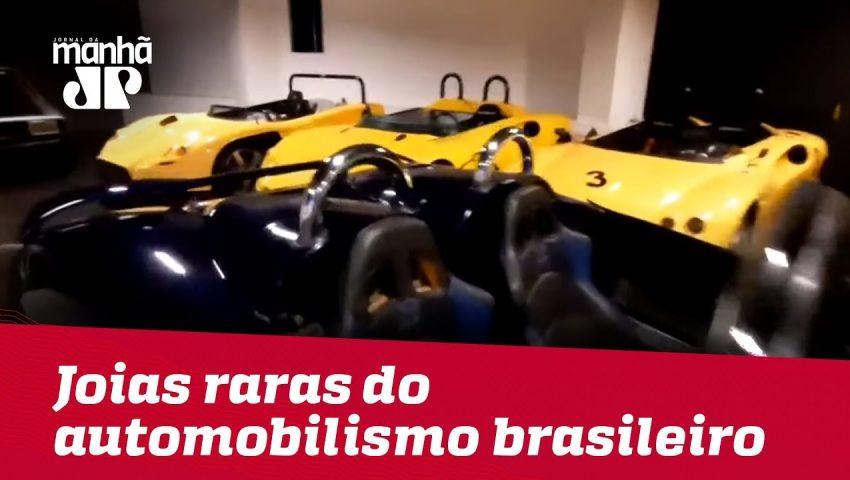 Museu reúne joias raras do automobilismo brasileiro