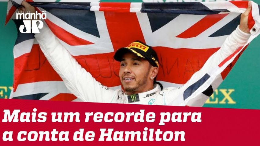 Lewis Hamilton quebra mais um recorde na F1
