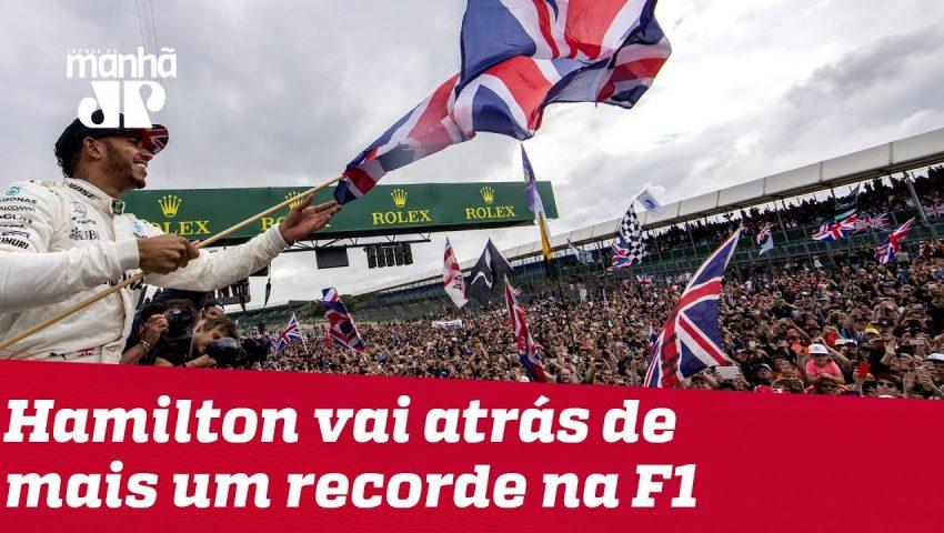 GP da Grã Bretanha pode trazer mais um recorde pra Lewis Hamilton
