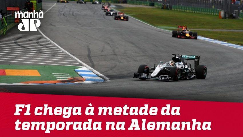 F1 chega à metade da temporada na Alemanha