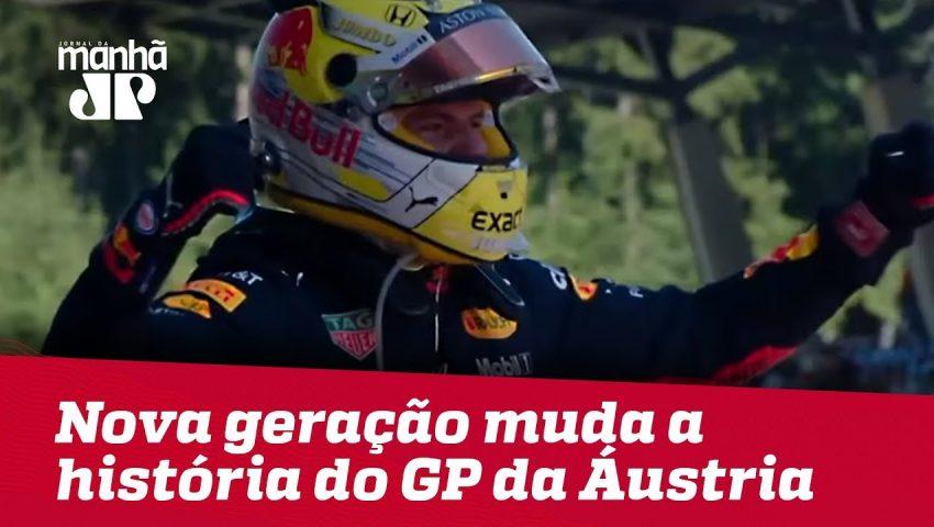 Nova geração de pilotos muda a história do GP da Áustria | Máquinas da Pan