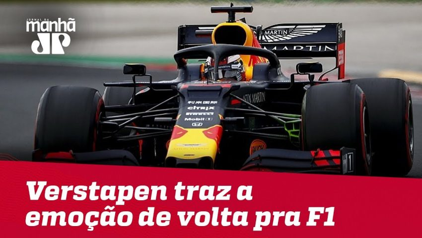 Alex Ruffo: Max Verstapen traz a emoção de volta pra F1