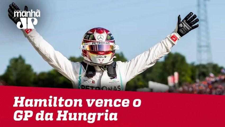 Hamilton vence o GP da Hungria com show de Verstappen