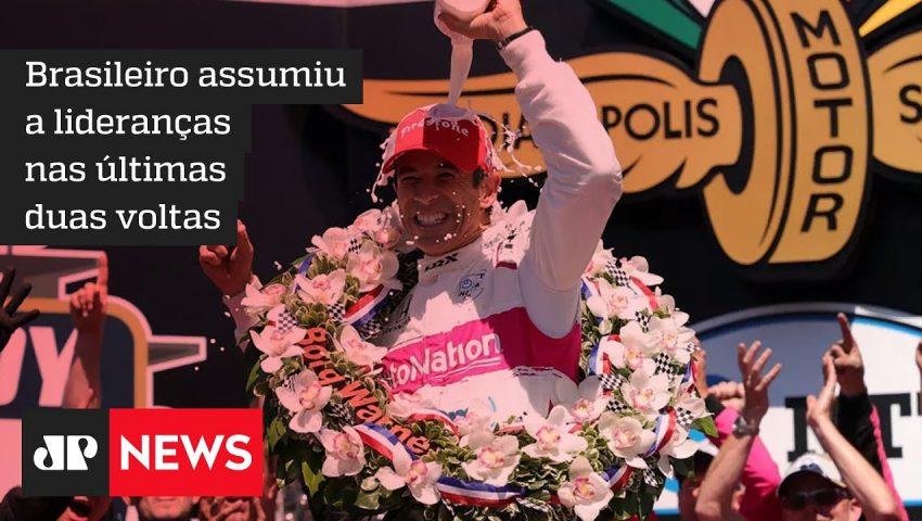 Helio Castroneves faz história ao vencer pela 4a. vez as 500 milhas da Indy
