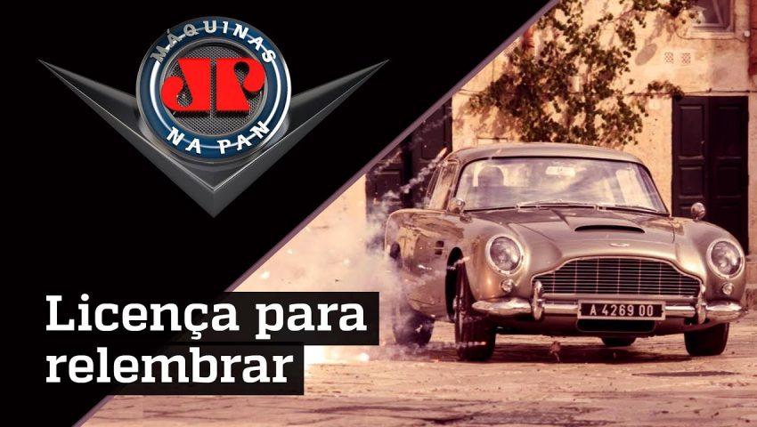 O carro mais icônico de Bond, James Bond
