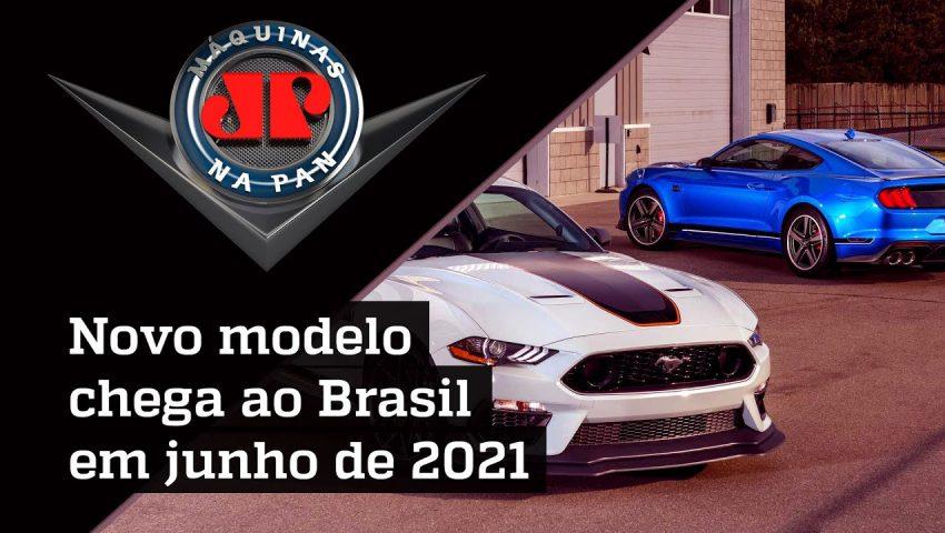 Mustang, ícone dos muscle cars, continua em evolução.