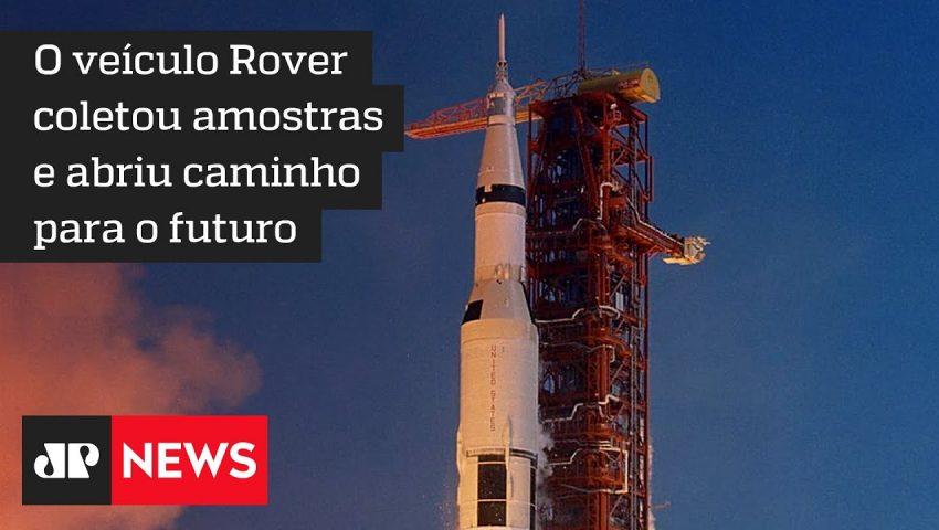 Há 50 anos, o veiculo elétrico Rover explorava a Lua