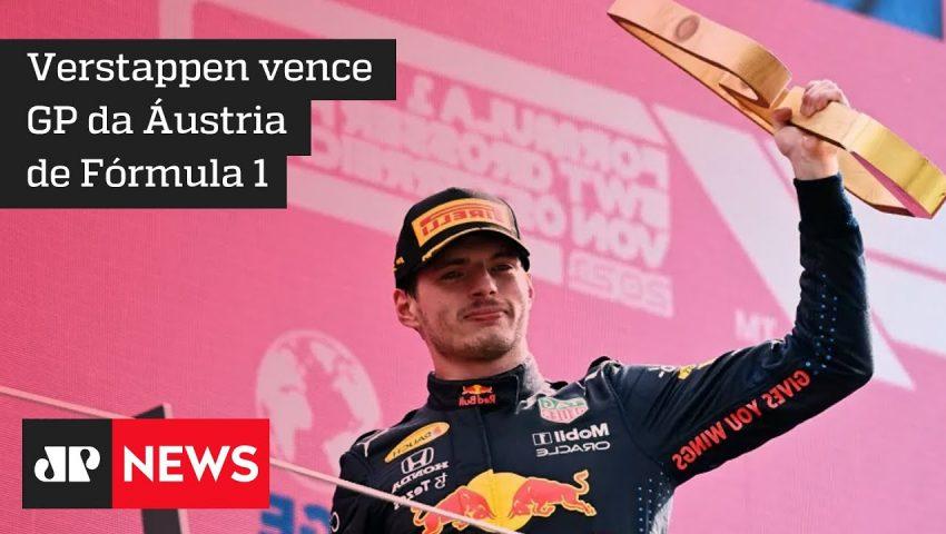 Max Verstapen vence o GP da Áustria e abre caminho para seu  1° título na F1