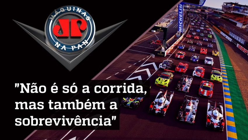 """""""Invasão brasileira"""" nas 24 horas de Le Mans"""
