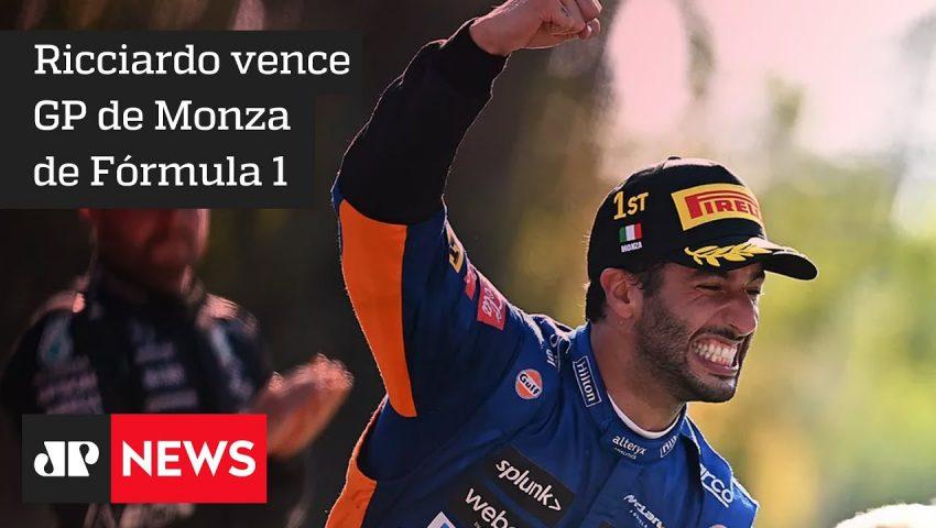 Dobradinha da McLaren e uma quase tragédia no GP da Itália de F1