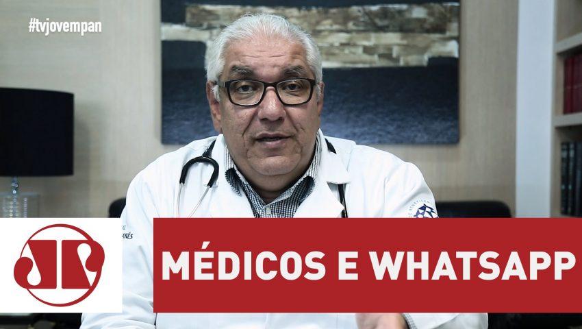 Relação entre médico e paciente via WhatsApp