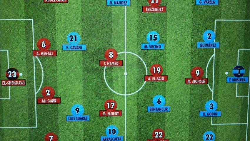 Salah… Uruguai 1 x 0 Egito