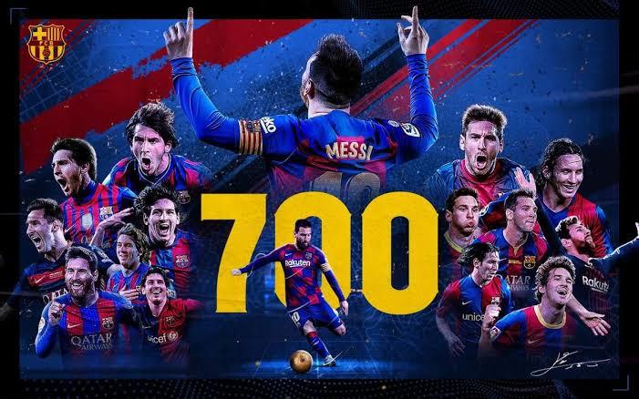 Messi, outros 700
