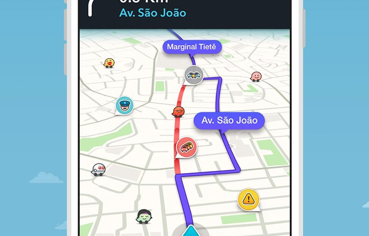 Como trabalham os editores de mapas do Waze