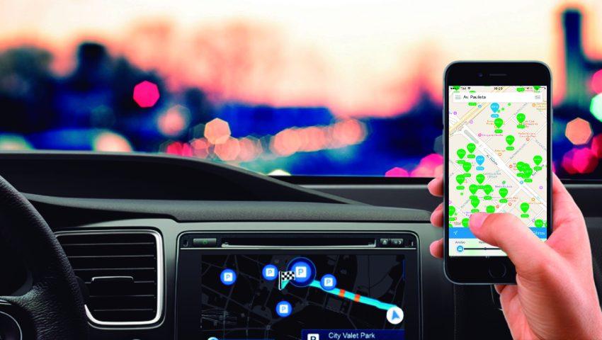 Aplicativo permite reserva de vagas em estacionamentos